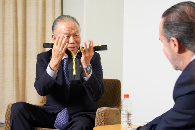 吉田 忠裕氏