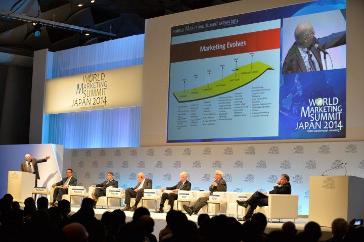 """コトラー教授が発起した""""World Marketing Summit"""" 。世界各国のマーケッター30名と、のべ2500名が参加。この大きなイベントに弊社が協力会社としてできたことは?"""