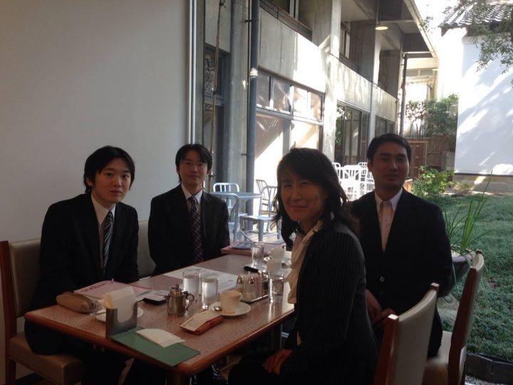 日本政策金融公庫の取材を受けました